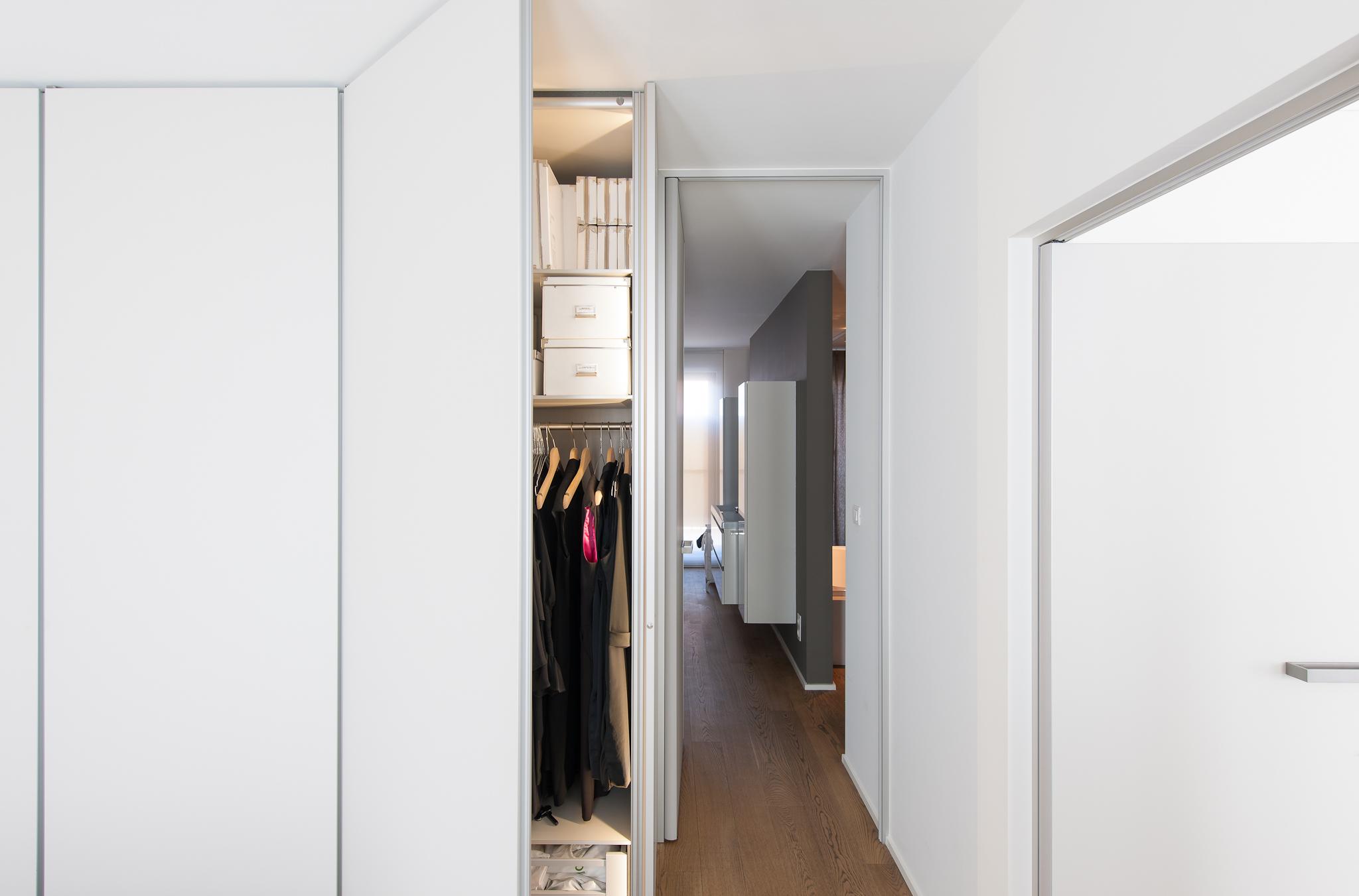 Inbouwkasten dressing op maat - Slaapkamer met badkamer en dressing ...