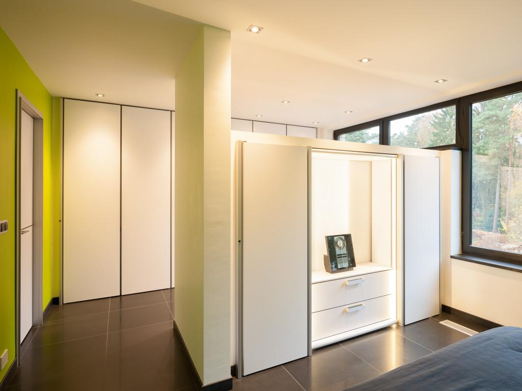 Moderne inbouwkasten op maat for Dressing moderne