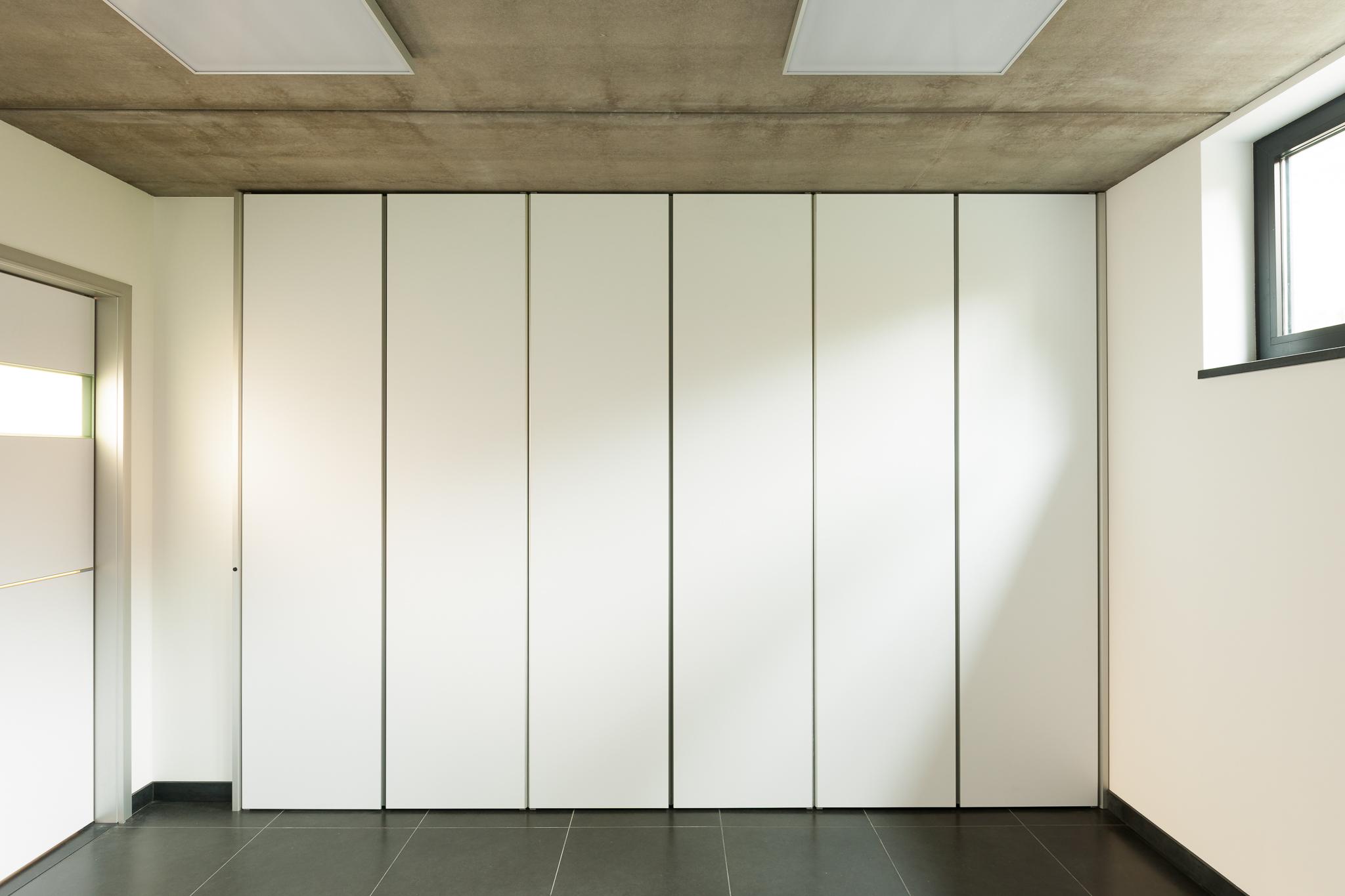 Moderne inbouwkasten op maat