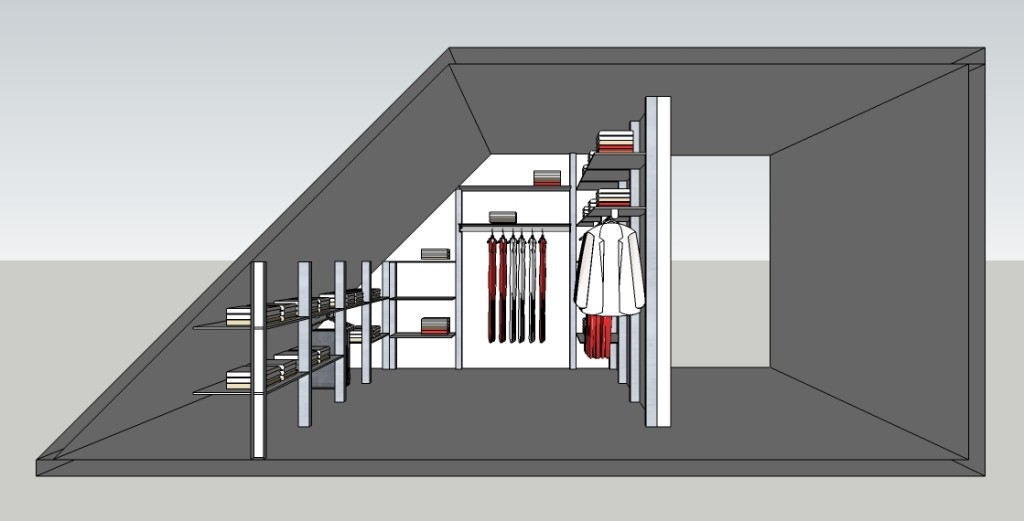 Inloopkast ontwerpen modulaire inloopkasten op maat dress a way - Modulaire kamer ...