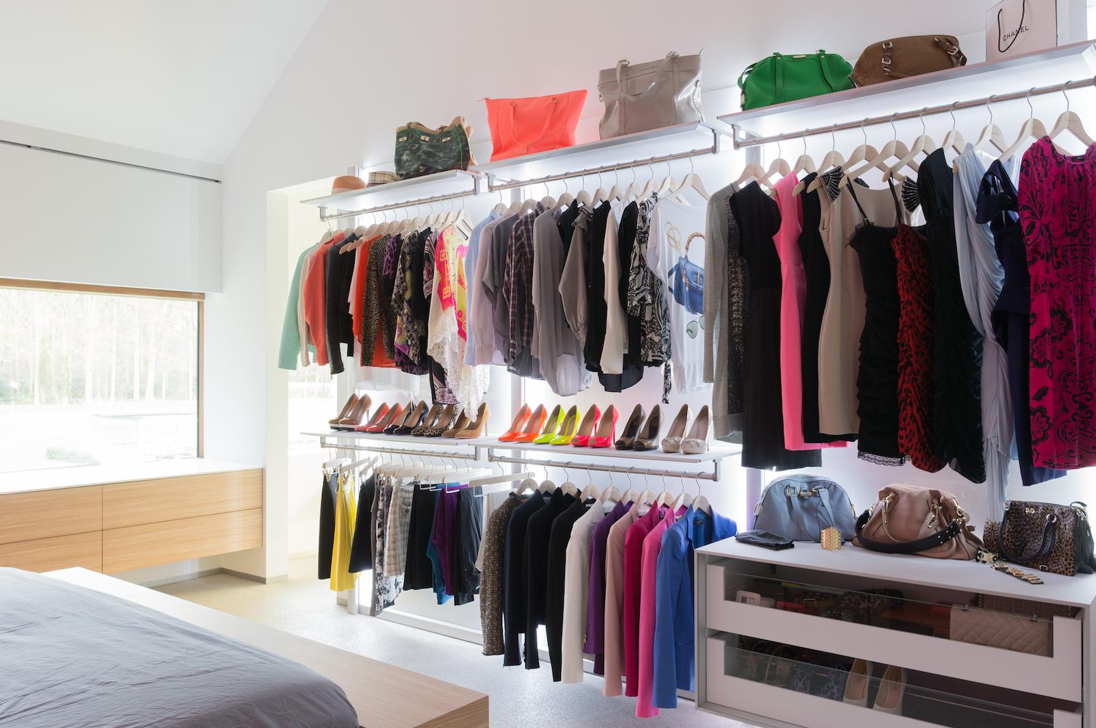 Fotogalerij dressings op maat dress a way for Slaapkamer garderobekasten